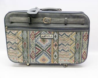 Little tapestry suitcase - 1980s - by Impuls