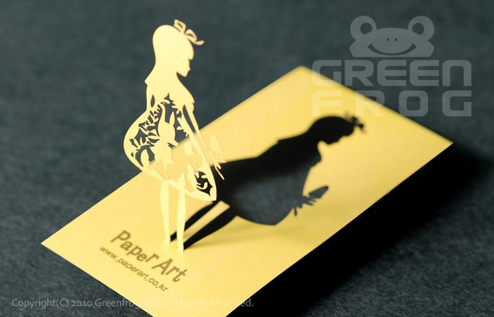FREE Shipping 200 Customized Business Cards Laser Cut