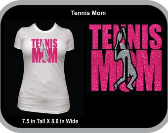 Tennis Mom T-Shirt Can be Personalized