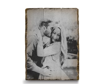 Photo on Wood, Pallet Photo, Wood Photo, Picture on Wood, Rustic Home Decor, Rustic Wall Art, Photos on Wood, Personalized Gift, Photo Gift