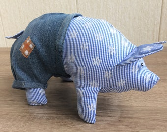 Pig plush toy - Pig toys for kids - Pig toys for girls - Pig toys for boys - Pig toy - Dress up toys - Pigs Toys - Pig stuffed toy