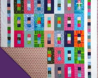 Prayer Quilt - Color Blocks