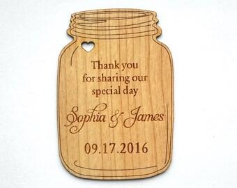 Mason Jar Tags, Mason Jar Wedding, Mason Jar Decor, Jar Tags, Favor tags, Custom tags, Wedding favor tags, Wood tags, Wedding Tags, Labels