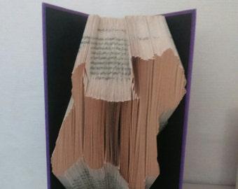 West Highland Terrier (Westie) Book Folding Pattern