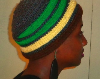Grey Butter Bar, Crochet African Headwrap