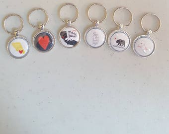 Sonoma County Strong, #sonomaproud, key chains, price per each.