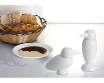 Ceramic Bird Oil/Vinegar Drizzler White Bird Oil/Vinegar Drizzler