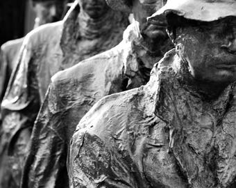 Depression Breadline photography statue series, Grounds for Sculpture, Fine art photography, room decor