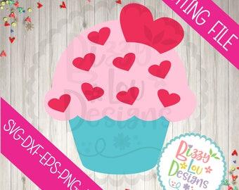 Download Cupcake love svg | Etsy