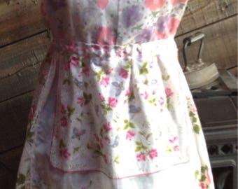 Vintage hanky apron