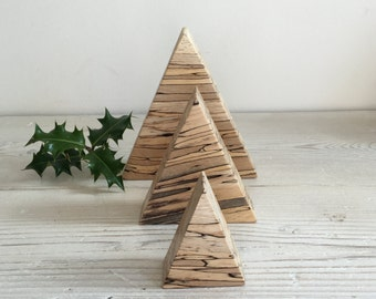 Wooden Christmas tree, decorations, minimalist Christmas tree, christmas ornament, xmas decorations, minimalist, natural, handmade, unique,