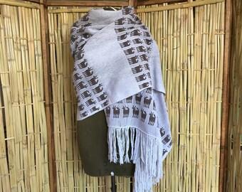 Collectors rebozo, loom rebozo 100% cotton.