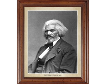 Frederick Douglass portrait; 16x20 print on premium heavy photo paper