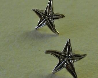 Pendientes estrella natural