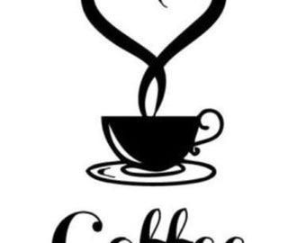 Coffee Lover's Window Decal