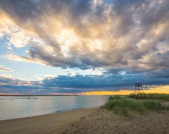 Plum Island Sunrise - Massachusetts coastal living on the ocean