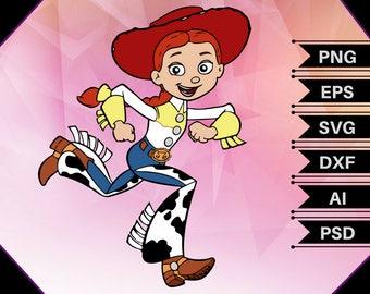 Jessie Toy Story,Toy story svg,Jessie svg,toy story clipart,jessie clipart,toy story birthday,jessie vector,toy story prints,Jessie print