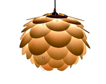 Best Selling Item,Pendant Lamp//Round pine cone ceiling light//lighting-ceiling light-Home-dining room light-pendant lighting-Halloween lamp