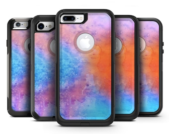 Mixed 8652 Absorbed Watercolor Texture - OtterBox Case Skin-Kit for the iPhone, Galaxy & More