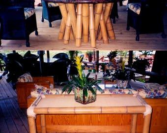 Bamboo Lanai tables