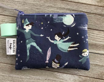 Small Neverland Zipper Pouch | Notion Pouch | Coin Pouch