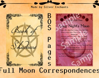 BOS Pages - Full Moon: December