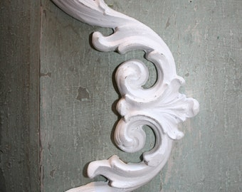 DIY furniture appliques - shabby chic appliques - furniture trim - decorative forms - architectural moldings - furniture moldings - onlays