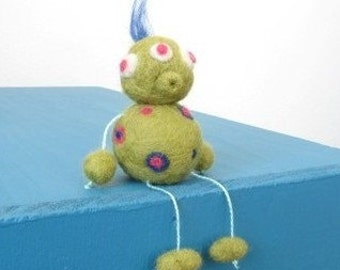 Zimby the Felted Alien