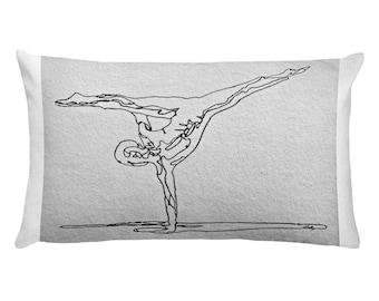 The Acrobat – Rectangular Pillow