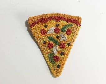 Combo Pizza Slice Brooch