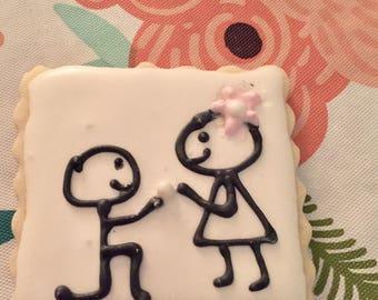 Marry Me Cookies (2Dozen)