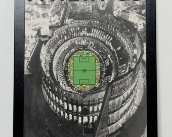 World Cup 1990 poster ITALY 1990 Italia 90