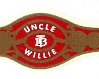 Uncle Willie Vintage Cigar Band, 1920s