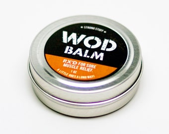 WOD Balm Muscle Relief, 1oz
