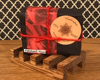 Patchouli Rose Vegan Soap Bar