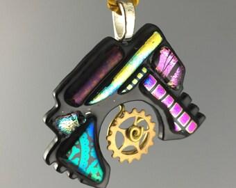 Steampunk Splash Pendant