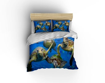 dolphins at play duvet covers home decor bedding comforter