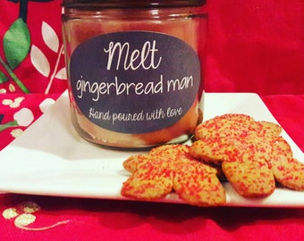 Gingerbread Man- 12oz Candle