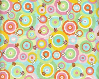 Retro Spring 100% cotton fabric   #16