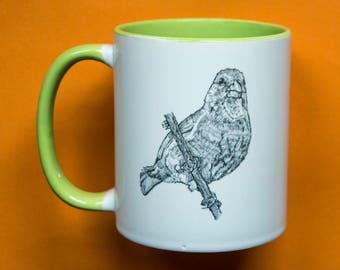 Greenfinch Mug