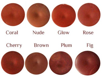 8 Colors of Lip Tint, super moisturizing sheer lip tints that blend with your natural lip color, lip color, YLBB, Oria