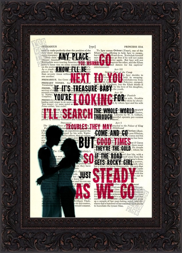 Violin dave matthews band violin sheet music : Dave Matthews Band Steady as We Go Song Lyrics print on