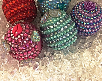 Eos lip balm, bling eos lip balm. Any color eos can be blinged out!!