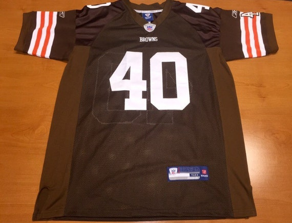 d58eab420 Peyton Hillis Cleveland Browns Reebok Jersey Authentic nike