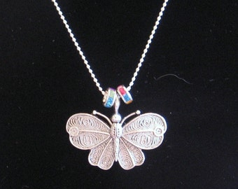 Lovely Butterfly Pendant