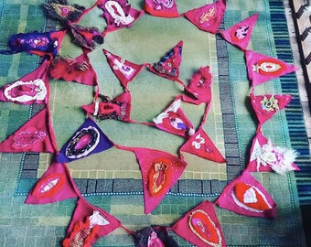 Fanny Flags, Bunting, Cunting