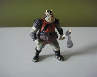 Vintage Star Wars  - Gamorrean Guard - Power of the Force - Star Wars Action Figure - 1997