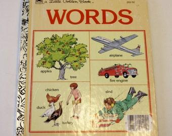 A Little Golden Book: Words (1992 edition)