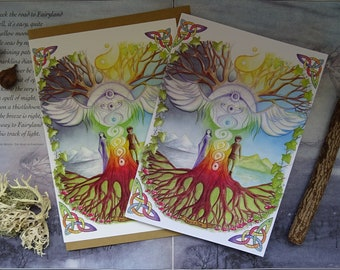 World Tree Notebook and Card Set