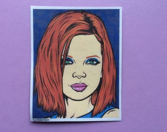 Shirley Manson Sticker